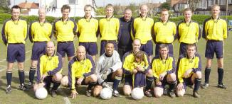 H with the team AFCW 2003